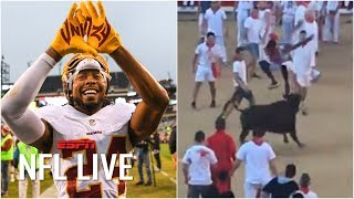 Should Redskins be OK with Josh Norman jumping over a bull? | NFL Live