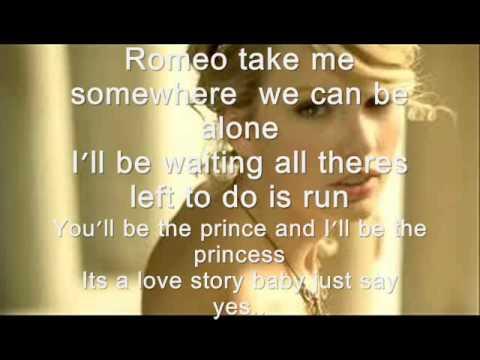 Love story - Taylor swift lyrics