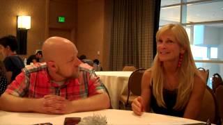 David Slade and Martha De Laurentiis Interview for Hannibal (SDCC 2014)
