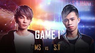 MS vs S.T [Tứ Kết][Ván 1] - Garena Liên Quân Mobile