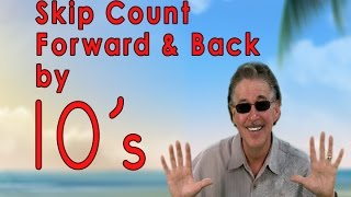 Count by 10's Count by 10 | Count to 100 | Counting Songs | Jack Hartmann