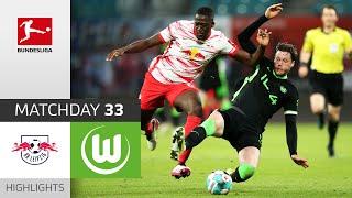 RB Leipzig - VfL Wolfsburg | 2-2 | Highlights | Matchday 33 – Bundesliga 2020/21