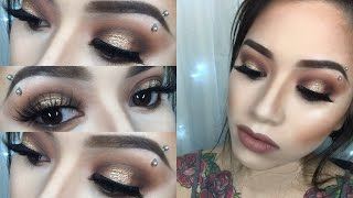 Coachella Makeup Tutorial | Morphe 350 Halo Eye | makeupbyngoc