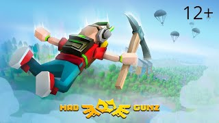 Mad GunZ - insane shooter with battle royale! (Trailer)