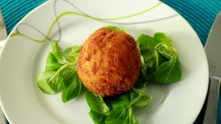 How to make Arancini - Italian rice balls