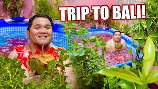 NAG SWIMMING SA LOOB NG BAHAY (LAKAS MAKA RESORT!!!)  | LC VLOGS #351
