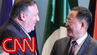 Mike Pompeo delivers Trump's letter to N. Korea