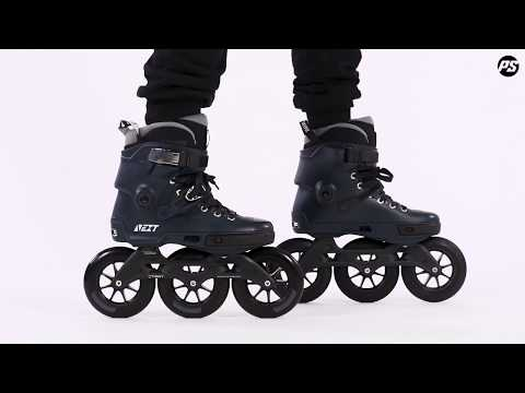 Video POWERSLIDE Roller freeskate NEXT 125 Brown