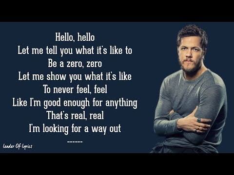 Imagine Dragons - ZERO (Lyrics)