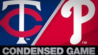 Condensed Game: MIN@PHI - 4/7/19