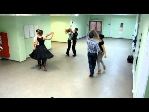 Богемская полька. Схема танца