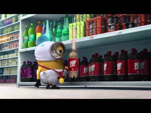 Despicable me - Minions at supermarket