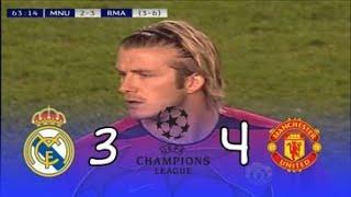 من الذاكرة : مان يونايتد 4_3 ريال مدريد /موسم 2002_2003/إياب الدور ربع النهائي/تعليق على حميد