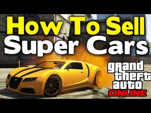 GTA Online - HOW TO SELL