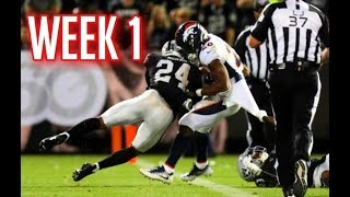 The Hardest Hits Of Week 1 | 2019 NFL Season || HD