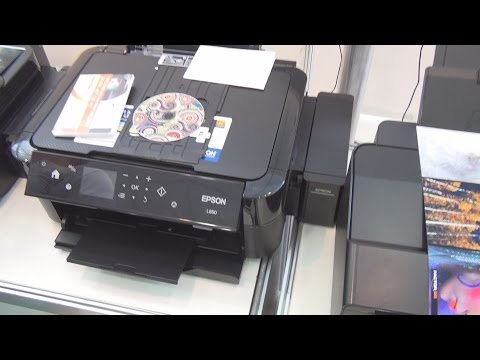 Epson L850 printer review in 3D
