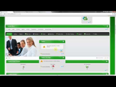 Cymbo Real Estate Software- Add Twitter Feed to your Site