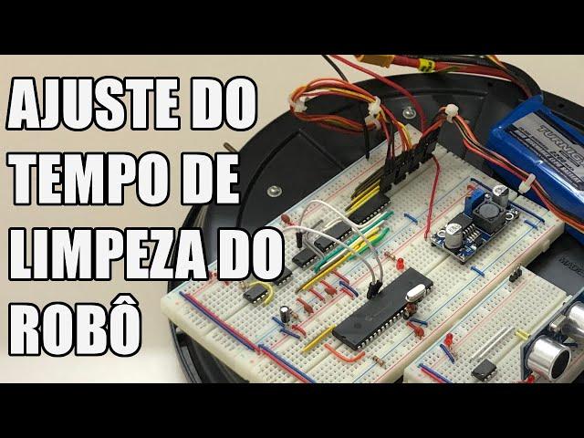 AJUSTE DO TEMPO DE LIMPEZA   Usina Robots US-3 #050