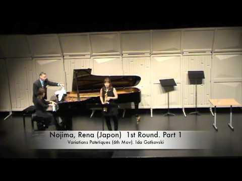 Nojima, Rena Japon 1st Round Part 1