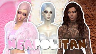 The Sims 4 - Neapolitan Ice Cream - (Create-A-Sim)