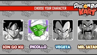 Điều khiển Piccolo chơi Trò chơi Songoku đua xe bình luận vui nhộn Dragon Ball Kart #2