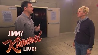 Jimmy Kimmel vs Ellen DeGeneres Nice Off