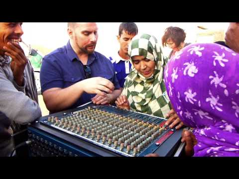 Studio-Live music project in Saharawi refugee camps