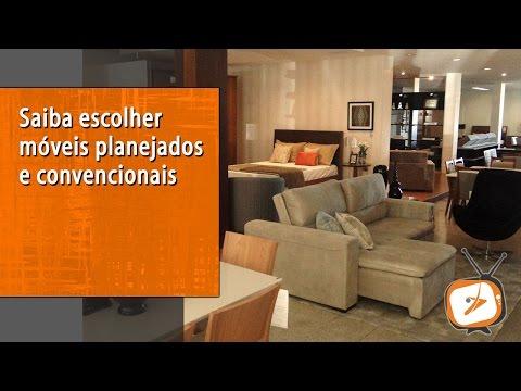 Saiba escolher móveis planejados e convencionais