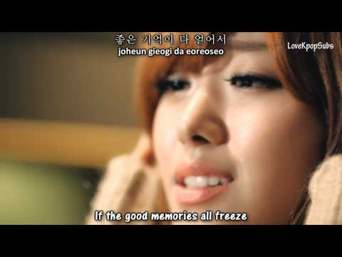 Song Ji Eun  - It's Cold (추워요) MV [English subs + Romanization + Hangul] HD