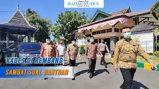 Kunjungan ke Rembang, Menteri Desa Malah Diwaduli Kades