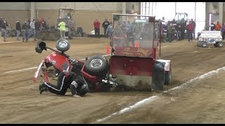 Truck & Tractor Pull Fails, Mishaps, Fires, Carnage, Wild Rides