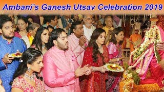 Ambani Family's Ganesh Utsav 2019 GRAND Celebration - Nita Ambani, Mukesh, Akash, Anant, Isha