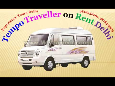 tempo traveller on rent | 9 seater, 12 seater, 16 seater, 20 seater tempo traveller in delhi