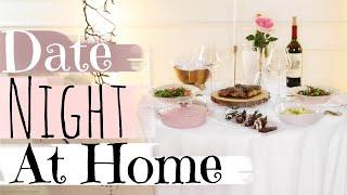 Romantic Date Night Dinner At Home - MissLizHeart