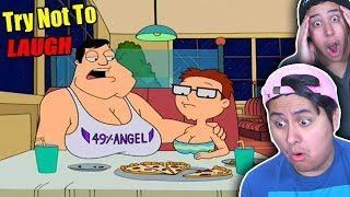 Try Not To Laugh! American Dad Funny Moments #5