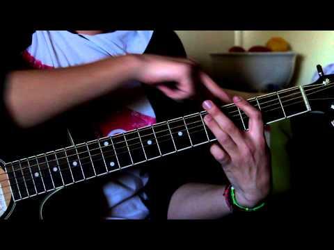 Como Tocar El Coro De One De Metallica En Guitarra Acoustica HD (parte ?)