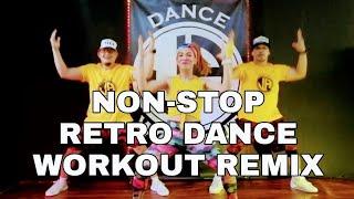 NON-STOP RETRO DANCE WORKOUT REMIX l JADanceworkout choreography