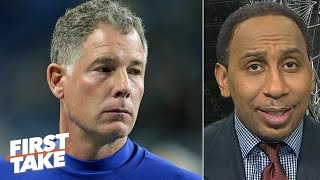 Stephen A. doesn't feel sorry about the Giants firing Pat Shurmur | First Take