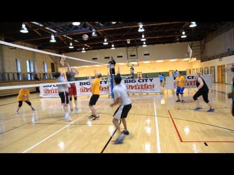Big City Volleyball Div 4A Set to Kill vs  Diggy Smalls
