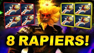 8 RAPIERS THE CRAZIEST GAME!!! - PSG.LGD vs ASTER - DPC CHINA 2021 WINTER LEAGUE DOTA 2