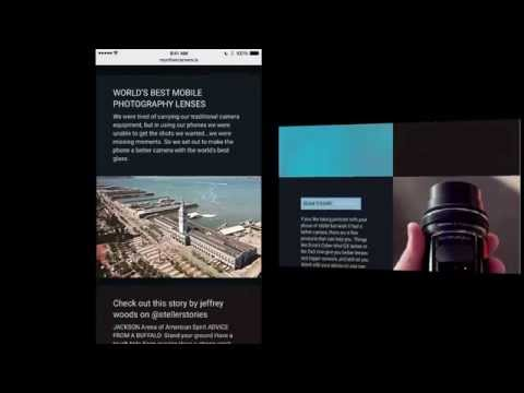 Product Demo: Building a Site on The Grid Using our iOS App