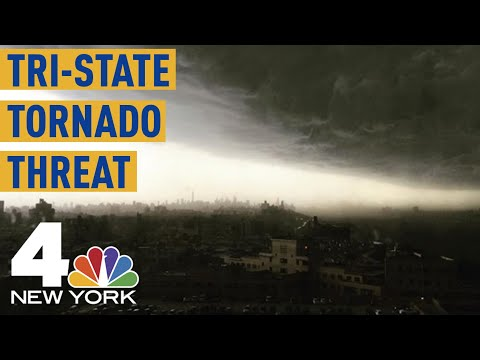 Tornado Threat: Watches, Warnings As More Severe Weather Pushes Into NYC, NJ | Storm Team 4
