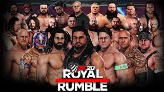WWE 2K20 30 Man Royal Rumble Match!