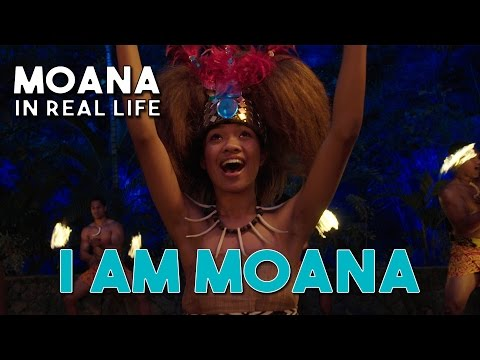 I AM MOANA (Song of the Ancestors) Official Moana/Vaiana Music Video in Real Life by WWL with lyrics