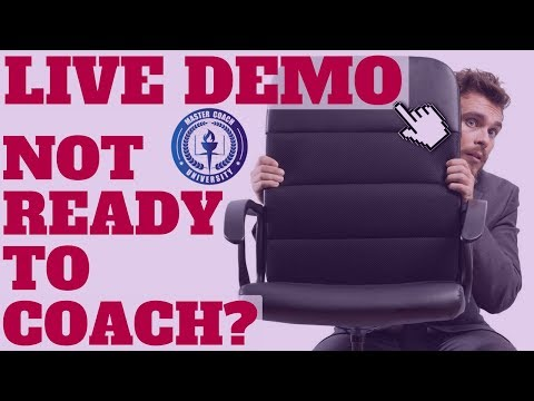 Overcoming Fears When Starting a Coaching Business [Live Demo of Accountability Coaching Techniques]