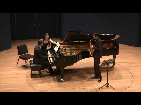 César Franck: Sonate en La majeur - 1/4 - Hanchao Jiang & Juan David Molano