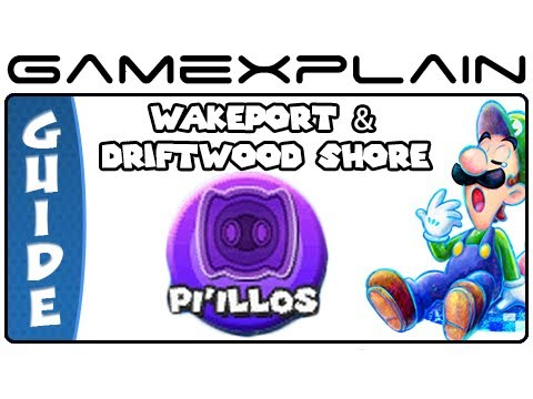 Mario & Luigi: Dream Team - Wakeport & Driftwood Shore Pi'illo Locations (Guide & Walkthrough) - Smashpipe Games