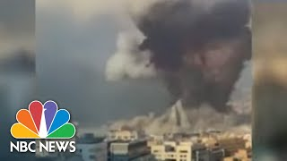 U.S. Citizen Among The Dead In Beirut Explosion | NBC Nightly News
