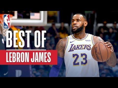 Best of LeBron James So Far This Season