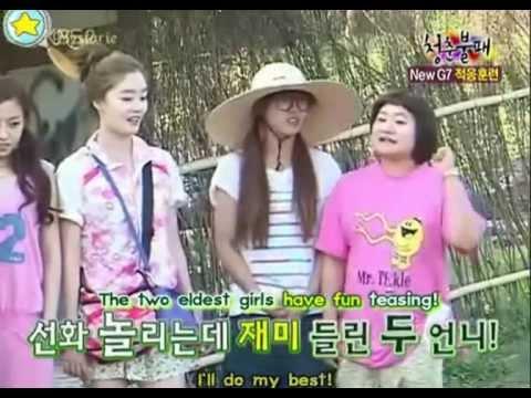 [eng] 한선화 김신영 Sunhwa Shinyoung Compilation pt 1/2 - funny